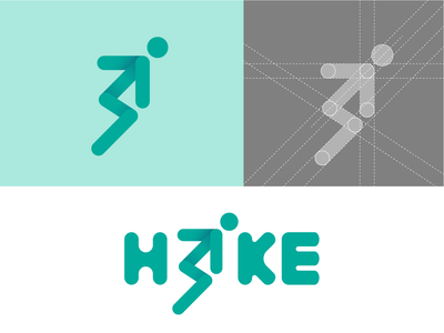 Hike Sports logo letter i script lettering customtype script font abstract logo marks abstract abstract logo iconic logo running logo up hike sports logo sports