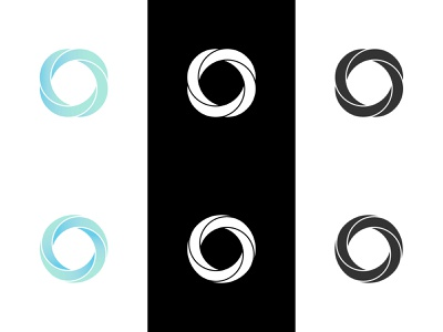 Twisted Rings rings 3d iconic logo abstract logo abs circles twisted rings 3d logo