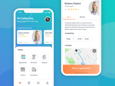 Healthcare Mobile App - Find Nearby Doctor find-doctor healthcare doctor health
