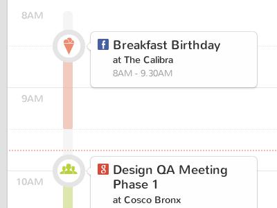 Calendar calendar flat clean bubble app application ui