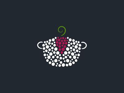 Logo Mark - Vine Homemade Food logo food restaurant vine vineyard pot branding