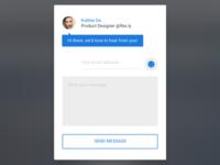 Flex.ly Contact Form (Emotional Design)