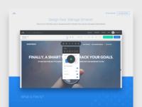 Flex.ly Beta Landing Page