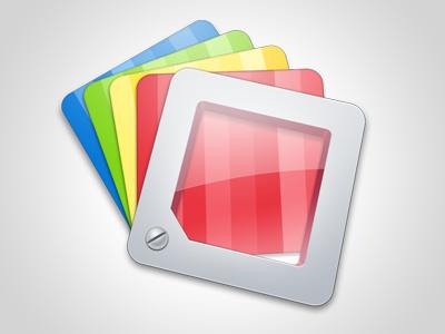 Simple Icon icon mac osx rainbow