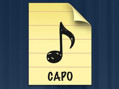 Capo Document icon