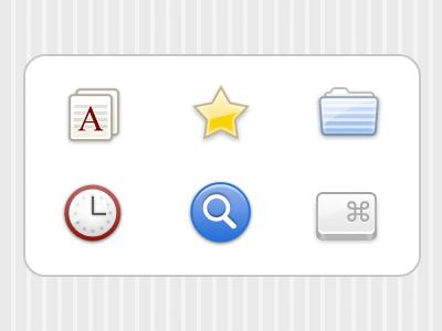 Hi-Res Keymote Icons icons ui
