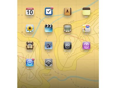 Topography wallpaper ipad