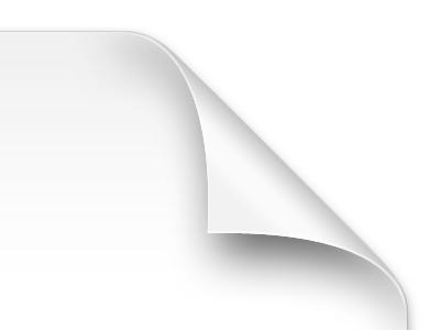 More Curl paper icon white