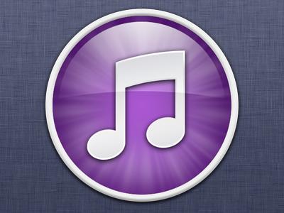 iTunes 10 (Purple) itunes icon