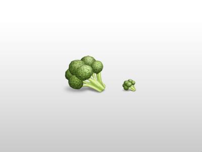 Broccoli green icon