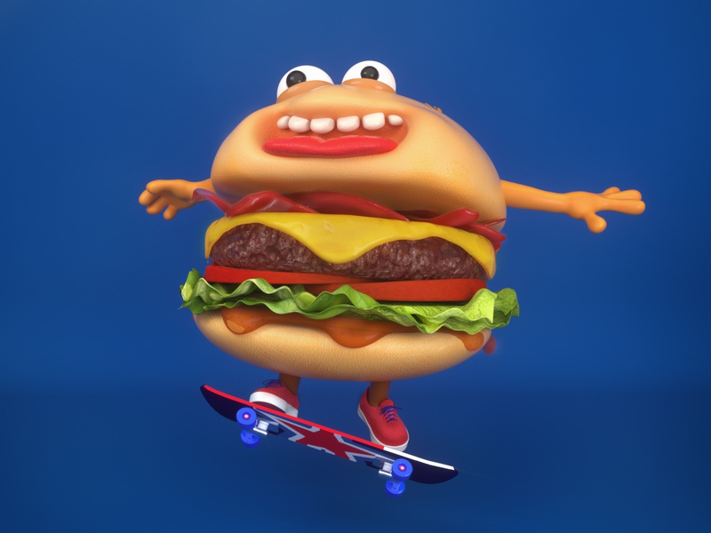 ROBY c4d 3d character cinema4d