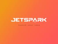 JetSpark Logo design