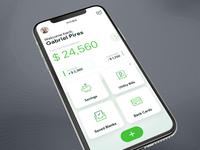 Mobile Bank App Dashboard
