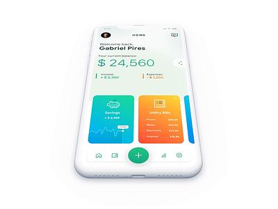Sending Money Interaction interaction money sending transactions bank app mobile app design prototyping principle for mac animation concept ux ui ios design app