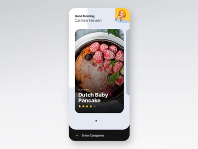 Cookbook App Interactions
