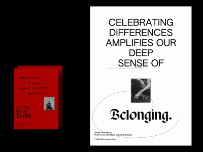 LETTERSFROMVENUS.COM editorial layout typography quotes conversation online magazine community life abroad lettersfromvenus poster editorial design