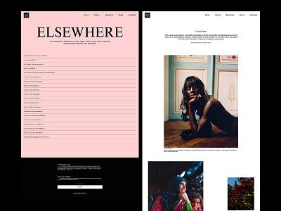 Letters From Venus lettersfromvenus photography typogaphy editorial design design magazine art direction layout online magazine editorial