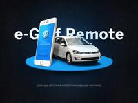 eGolf Remote