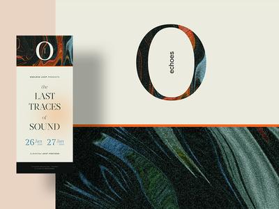 Concert Ticket concert music label visual art serif classic vintage branding print ticket music