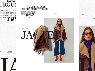 J online shopping item fashion brand web design ecommerce fashion