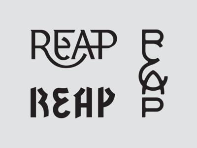 Lettering options