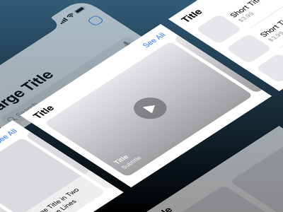 Mosaic iOS Wireframes is Ready! 💥 ux kit kit wireframes mobile design mobile ui interaction design details design ux ui interface