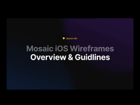 Mosaic Guideline Video