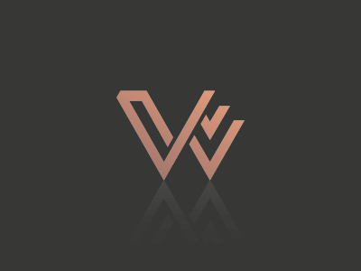 "Unused symbol design with the letter ""w"" unused monogram type letters w visual branding design logo experimental experiment"