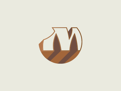 """Unused symbol design with the letter """"m"""" mark unused m logo monogram type letters m visual branding design logo experimental"""