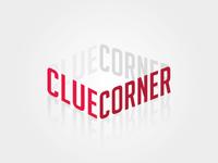Unused logo design: Clue Corner