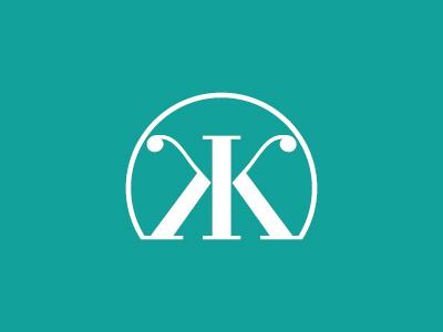 Unused logo experiment symbol typographic logo k type letter k logo kk monogram logo kk