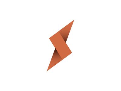 "Unused symbol design with the letter ""S"" lightning logo template shutterstock flash streak unused monogram s logo"