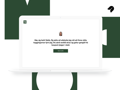 TM Vádís easy simple green minimal self checkout insurance