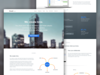 Landing page (business software)