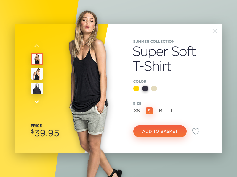 Shopping Cart (Product Quick view) daliy ui details product button add to basket e-commerce cart shopping ux ui