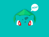 Bulbasaur WOW