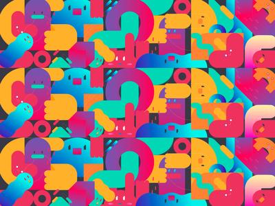 My world - Pattern
