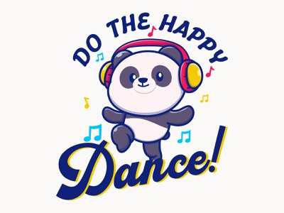 Do The Happy Dance Funny baby t-shirt tshirt logo graphic design fashion babyclothing babymodel babies kidsclothes babylove babyshop babyshower kids kidsfashion babyboy babyfashion babygirl baby babyclothes