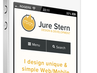 Mobile version of the site