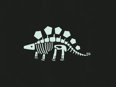 Earnest the Stegosaurus' Bones