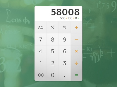 UI Challenge Day 042 - Calculator calculator ui challenge ui design ui