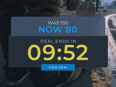 UI Challenge Day 059 - Limited Time Offer uidesign limited time offer ui challenge ui design ui