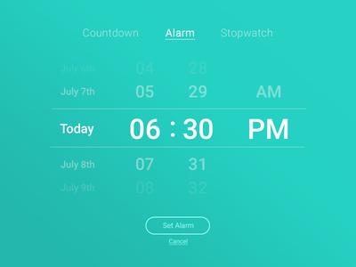 UI Challenge Day 068 - Date Picker date picker ui challenge ui design ui