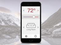 Day 020 - Thermostat Widget/App