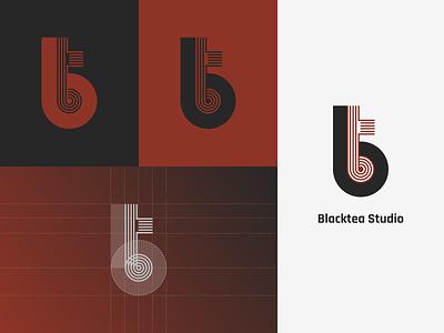 Blacktea Studio branding logomark bengaluru design studio blacktea studio logo branding