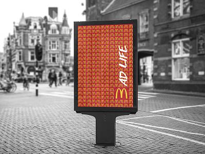 Junk Food Poster print poster mcdonald mad life junk graphic food design city campain bad
