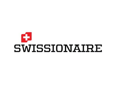 SWISSIONAIRE - logo  type defender typography swissionaire swiss red modern luxus logo font cosmetics brand