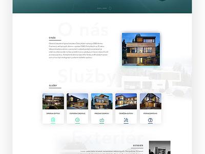 OSBD - Web UI  apartment digital house ux simple ui design web osbd