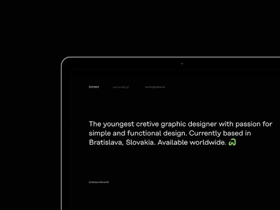 Jakub Had personal website jakubhad jakub had snake personal new website black minimal simple white