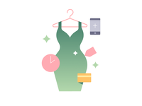 Purchase clothes online